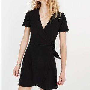 Madewell Texture & Thread Cotton Wrap Dress